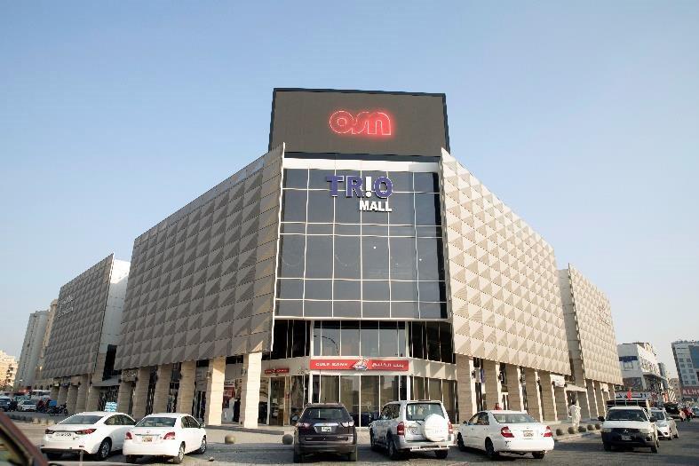 Trio Mall Screen