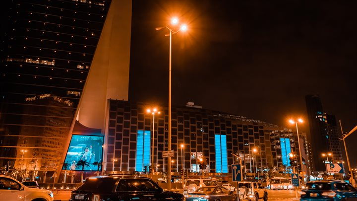 Kuwait City, Sharq - Hamra Tower (Outdoor)